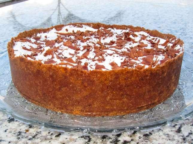 Torta de Chocolate com Chantily